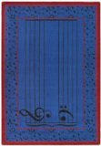 "Joy Carpets Kid Essentials Music & Special Needs Fully Staffed Rug, Blue, 5'4"" x 7'8"""