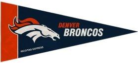 Denver Broncos Mini Pennants - 8 Piece Set front-177246