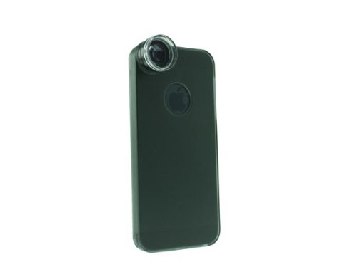 System-S Plastic Hard Case Back Cover With Optical Microscope Lens 20X Zoom For Iphone 5