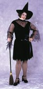 Feather Witch Plus-Size Costume