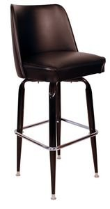 American Made High Quality Restaurant 30 Inch Swivel Bar Stool