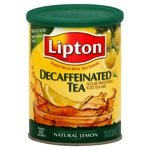 Lipton Beverage Natural Lemon Sugar Sweetened Iced Tea Mix 750 g Canister (Pack of 3)