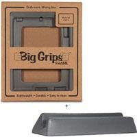 Big Grips Frame & Stand Set for iPad 2,iPad 3 & iPad 4 - Grey