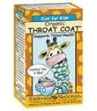 Just for Kids Organic Throat Coat Tea 18 Bag(S)