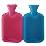 Combo Of 2 Hot water bag Bottle Classic Both Side Ribbed For Men Women Senior Citizen Muscle Pull Stomach Back Aches Arthritic Bed Warmer Sports Aches Pains Children Body Warmer Heat Therapy Treatment