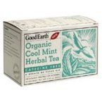 Good Earth Teas, Organic Cool Mint Herbal Tea, Caffeine Free, 18 Tea Bags, 0.95 oz (27 g)