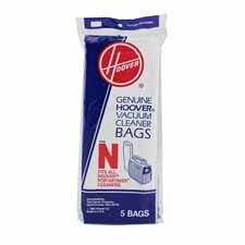 Hoover Vacuum Products - Replacement Toner Bag, For C2094, 5/PK - Sold as 1 PK - Replacement disposable bags are designed for use with the Hoover Commercial Portapower Lightweight. Each paper bag has a standard N design.