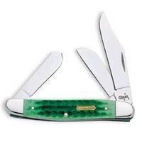 Case Cutlery 05881 Case John Deere Stockman Pocket Knife, Yellow Bone