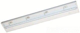 Juno Lighting UPX430-WH Pro-Series Xenon Under cabinet Fixture, 30-Inch, 4-Lamp (Designer White)
