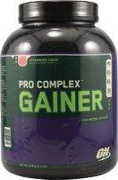 Optimum Nutrition  Pro Complex Gainer, Strawberry Cream, 5.08 Pound