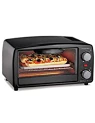 Hamilton Beach Proctor-Silex XL Black Toaster Oven Broiler 15 Minute Timer With Auto Shutoff by Hamilton+Beach
