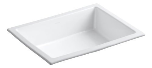Best Prices! Kohler K-2882-0 Verticyl Rectangle Undercounter Lavatory, White