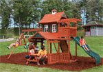 Palisade Wooden Swing Set