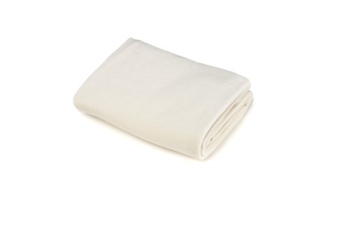 American Baby Company Organic Fitted Cotton Velour Porta-Crib Sheet, Natural