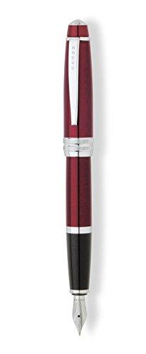cross-bailey-medium-nib-lacquer-fountain-pen-red