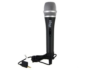 Irig Professional Microphone With Recording Function (Black)