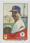 Jim Lewis (Baseball Card) 1984 Cramer Pacific Coast League #180