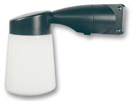 ETERNA Black Cast Aluminium Body Corner Mounting Outdoor Wall Light, IP65 Rated, WGBK: Amazon.co ...