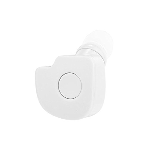 GBSELL Wireless Stereo Bluetooth 4.2 Mini In-Ear Earphone Headphone Headset Earbuds For iphone LG Samsung (White)