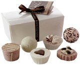 Bomb Cosmetics Chocolate Ballotin Assortment Bath Gift Set by Bomb Cosmetics