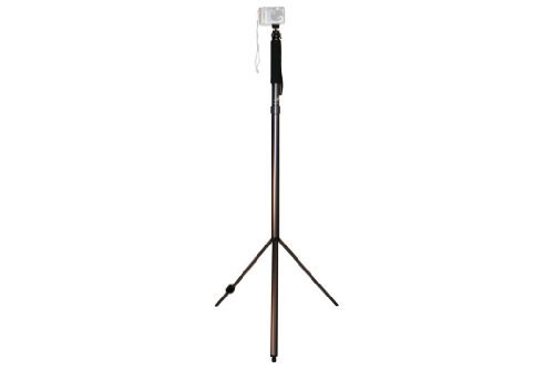 Trek-Tech TrekPod II Monopod/Tripod/Hiking Staff Multi-Use Tool for Image Stabilization for Digital Camera, Video Recorder or Other Optical Devices