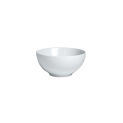 Steelite 6900E551 Varick White 8 Oz. Rice Bowl - 12 / CS