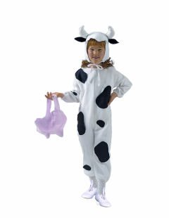 Infant or Toddler ECONOMY Cow Costume