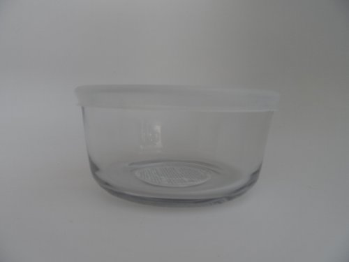 2 Glass Baking / Storage Bowls With Bpa-Free Lid Made In Usa (Size = 2-Cups); Safe For Microwave, Oven, Dishwasher, Freezer