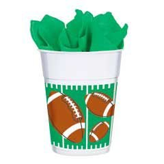 Cup The Big Game 14oz Plastic - 1
