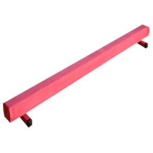 The Beam Store Pink Suede 8-Feet Gymnastics Balance Beam