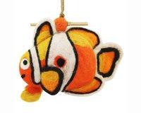 DZI Handmade Designs DZI484038 Clown Fish Felt Birdhouse (Handmade Bird Houses compare prices)
