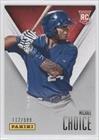 Michael Choice #112/599 Texas Rangers (Trading Card) 2014 Panini Father'S Day #28