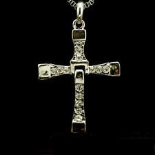 Btime Men Dominic Toretto Inspired Fast Same Item Cross Necklace