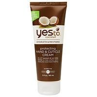 Yes to Coconut Hydrate & Restore Protecting Hand & Cuticle Cream, 3 fl oz