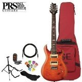 Paul Reed Smith SE Custom 24 7-String Electric Guitar Kit - Includes: Tuner, Cable, Strap, Stand, Pick Sampler and PRS Gig Bag (Prs Custom 24 Se compare prices)