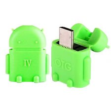 Karbonn Android One Sparkle V Compatible Cute Little OTG Adapter Micro USB OTG to USB 2.0 Adapter