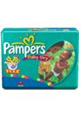 Pampers Baby Dry Diapers - 1