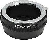 FOTGA ペンタックスKマウントレンズ-Sony NEX Eマウントマウントアダプター 【ネットショップ ロガリズム】PK-NEX