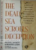 img - for The Dead Sea Scrolls Deception book / textbook / text book