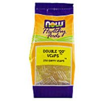 "Now Foods Veg-Capsules Double ""00"" Empty Capsules, 250-Count"