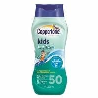 Coppertone Kids Sunscreen Lotion Tear Free with Zinc Oxide, SPF 50, 8 oz
