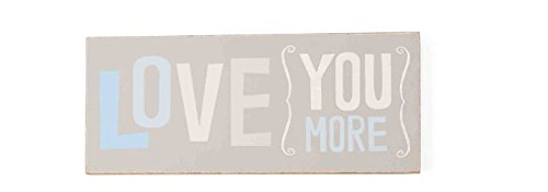 Mud Pie Plaque, Love You More