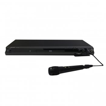 Supersonic Sc-31 5.1 Channel Dvd Player With Hdmi Up Conversion, Usb, Sd Card Slot And Karaoke Supe