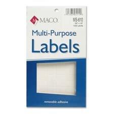 MACMS610 - Multipurpose Self-Adhesive Removable Labels