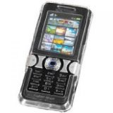 TECHCESSORIZE - Crystal Clear Case Hard Cover for Sony Ericsson W890i/W890