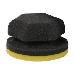 Adam's Yellow Hex-Grip Car Wax Applicator