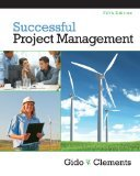 img - for Successful Project Management 5th Edition by Gido, Jack, Clements, James P. [Hardcover] book / textbook / text book