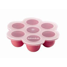 Beaba Multiportion Freezer Tray - Pink