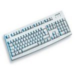 Cherry G83-6105LPQGB-0 - G83-6105 Classic Line PS/2 Standard PC Keyboard - Grey