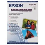 Epson Premium Glossy Photo Paper A3 20 Sheets